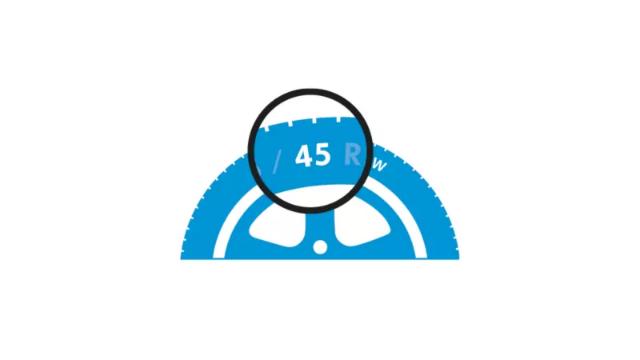 45 - Altura do pneu